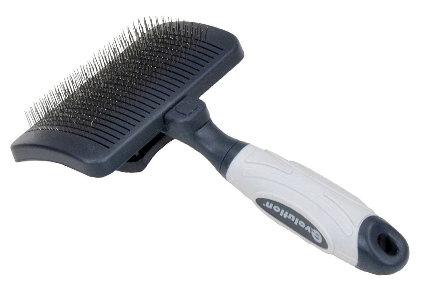 Evolution Self-Cleaning Slicker Brush for Standard Poodles
